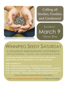 Winnipeg Seedy Saturday 2013